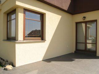 atypická dřevohliníková okna