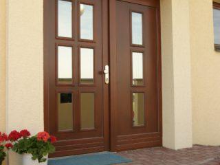 fotogalerie vchodových dveří - prosklené dveře s antireflexním sklem