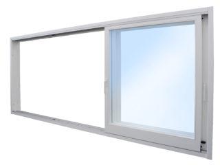 posuvné stěny, posuvná okna HS portal - bílý rám