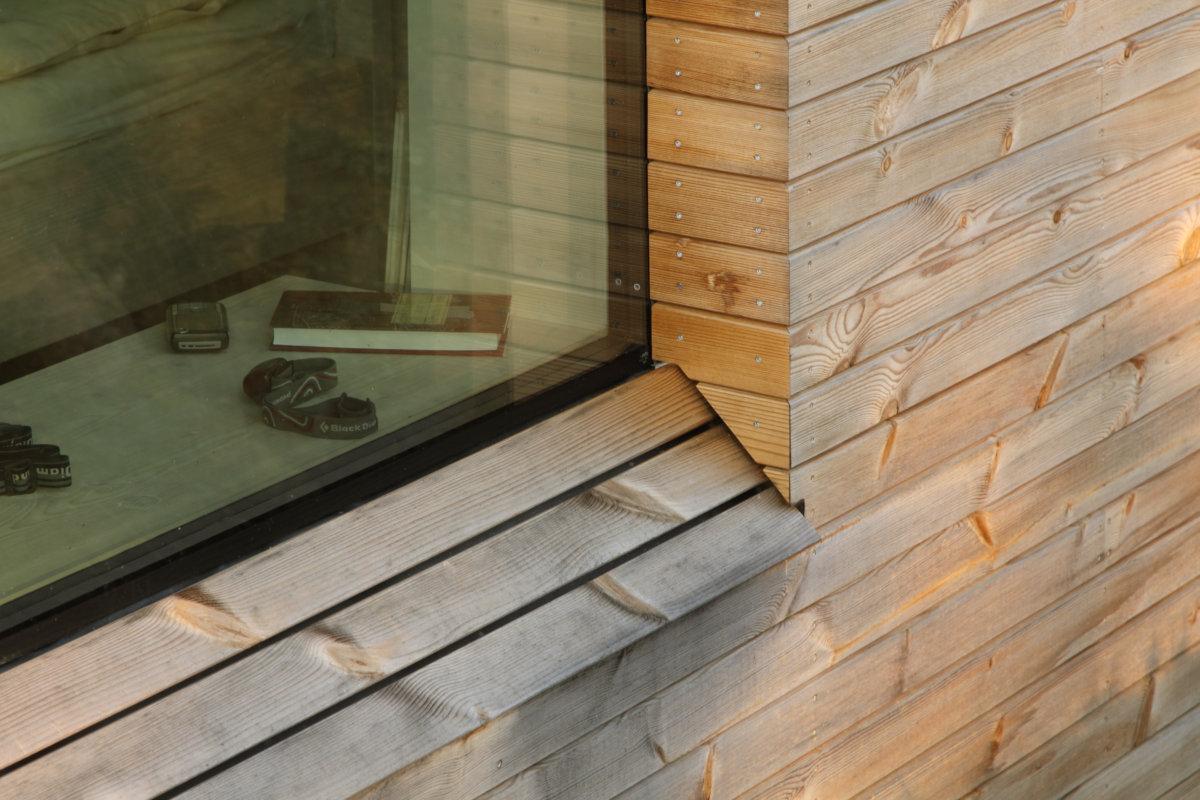 typy dřevohliníkových oken - použití v dřevostavbě