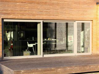 dřevohliníková okna alu pasiv