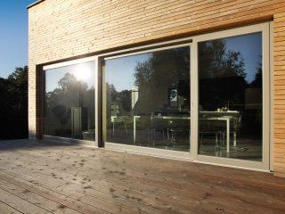okna alu pasiv z dřevohliníku