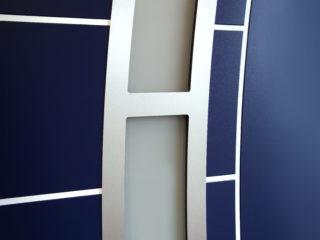 fotogalerie vchodových dveří - detail prosklených vchodových dveří