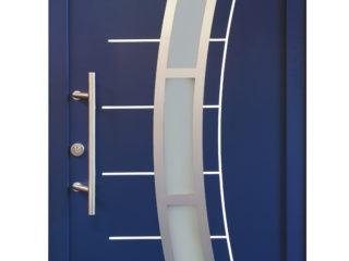 fotogalerie vchodových dveří - designově pojaté prosklení a dekorativní prvky