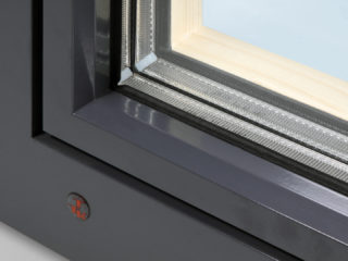 okenní rám okna alu plus