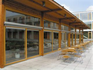 posuvné stěny, posuvná okna HS portal pro rekreační objekt