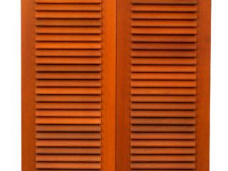 Fotogalerie ostatního příslušenství k eurooknům - dvoukřídlé dřevěné okenice
