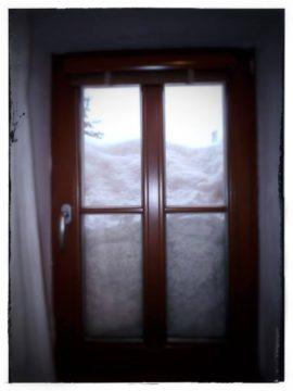 kvalitu výroby a montáže dřevěného okna prověříte i v zimě