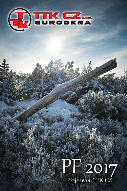 Eurookna vám přejí krásné Vánoce a šťastný nový rok 2017