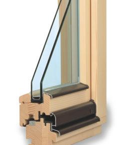 odolná dřevěná eurookna TTK komfort