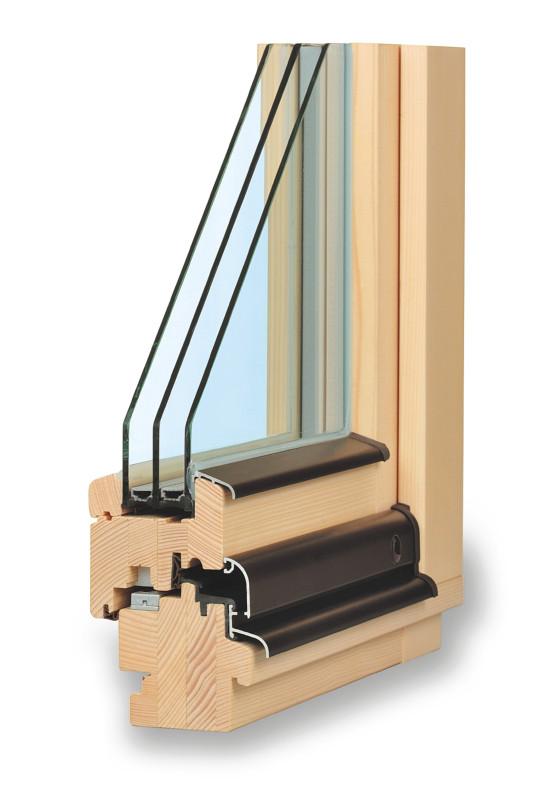 montáž a údržba dřevohliníkového okna