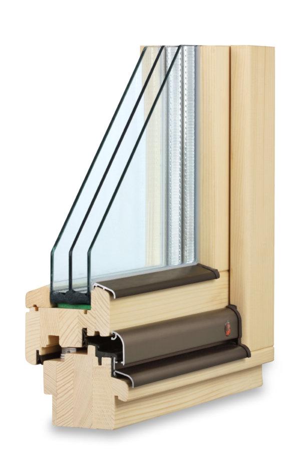 nejmodernější dřevěná okna TTK pasiv plus