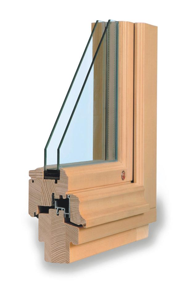 rustikální dřevěné okno TTK rustikal