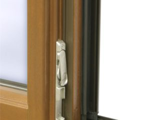 detail okna ttk alu