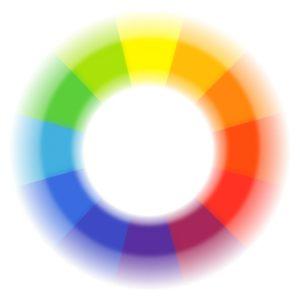 goethův kruh barev
