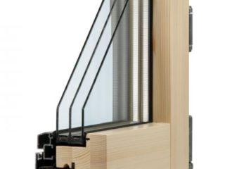 detail okna alu line