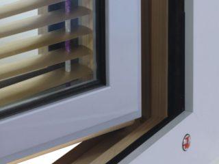 dřevohliníkové okno ttk triplex plus