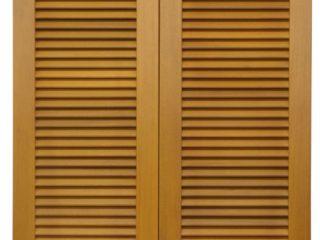 Fotogalerie ostatního příslušenství k eurooknům - dvoukřídlé dřevěné okenice - světlé dřevo