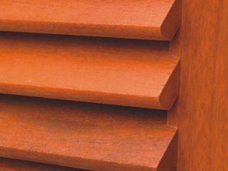příslušenství - dřevěná okenice z tmavého dřeva
