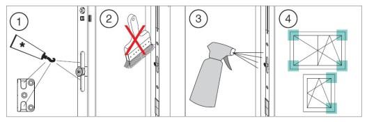 návod k obsluze - jak pečovat a čistit dřevohliníkové okno