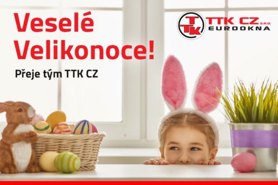 veselé Velikonoce Vám přeje výrobce tradičních dřevěných oken a vchodových dveří - Eurookna TTK