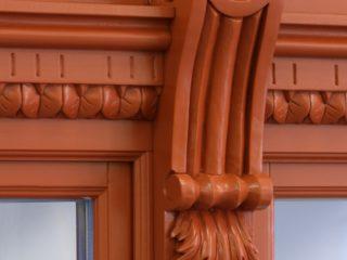 dřevěné okno ttk rustikal